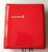 Mini Polaroid Portable Instant Picture Photo Album for FUJIFILM INSTAX Red New