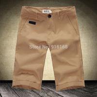 sale cheap big mens straight shorts fashion stylish clothe fashion brand trouser for men summer casual knee short shorts