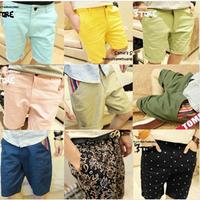 Free Shipping Summer Men Five Pants Fashion Casual Pants 10 Kind Of style Men's Short Pants 1PC/LOT