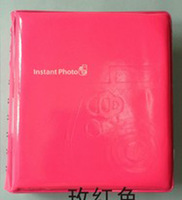 Mini Polaroid Portable Instant Picture Photo Album for FUJIFILM INSTAy dark pink