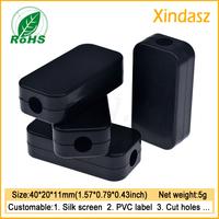 10pcs Free shipping Black small electronics project enclosure for usb box 40*20*11mm usb enclosure plastic oem