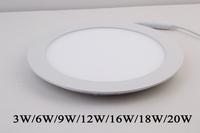 High quality 18w 2835 smd led ceiling light for hotal & home lighting AC85-265v led panel light white