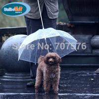 Presale !! Pet umbrella dog umbrella pet raincoat dog raincoat teddy small dogs vip bichon pet umbrella