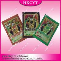 Scooby snax 10g herbal incense bag / plastic packaging bag / zipper bag