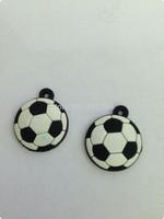20000Pcs football design  loom charms Loom Band charms DIY bracelet charm small pendant ( football style)