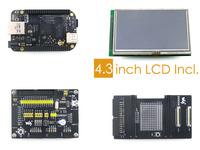 BeagleBone Black 1GHz ARM Cortex-A8 512MB DDR3 4GB Development Board Rev.C+LCD+Beaglebone Accessory Kits= BB Black Package A