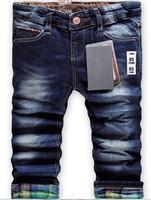 Retail - High quality 2-10 years fashion cool cotton denim boys jeans brand children's long pants kids girls boys pants za 8830