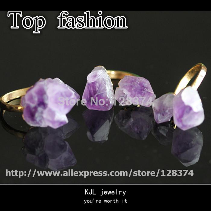 natural drusy druzy stone,quratz amethyst jewelry beads,gemstone agate 24k gold side free shipping(China (Mainland))