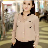 2014 new hot!blouse Free shipping selling good quality fashion OL shirt free shipping