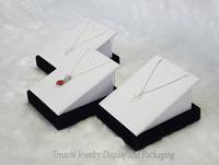 Promotion 3PCS/LOT Jewelry Display Prop Pendant Oganizer Showcase Necklace Holder Stand Shelf Rack  Wooden