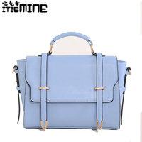 2014 vintage preppy style fashionable casual trend of the shoulder bag cross-body women's handbag