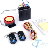 Motorcycle Bicycle Anti-theft Security Alarm System Remote Control Engine Start 12V S002173