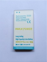 High Capacity Battery for I9600 S5 Thicker battery for s5 i9600 Supporting mobile phone cover Special offer free shopping