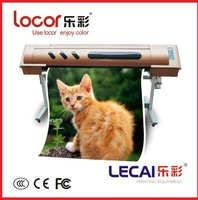 Factory direct sale!!! hot sell original lecai indoor/outdoor inkjet printer with Japanese E-pson DX print head