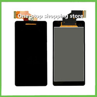 New Touch Glass Digitizer Assembly LCD Display Screen for Sony Xperia V LT25 LT25I,Free Shipping (Black)