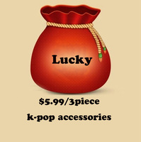 Kpop Lucky bag! Have fun and lucky for $5.99,  Clearance for the some  items! kpop items, k-pop fashion
