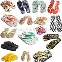 Brand New sapatilhas femininos 2014 summer US Fashion Flip flops Flats sandals,women shoes 16 color size 6,7,8,9 dropship