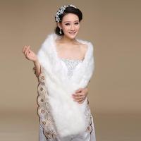 2013 married noble fur shawl cape elegant bride cape lace decoration mpj023 fur shawl