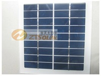 1pc 9v 2w high efficiency polycrystal solar panels for solar system 12v auto battery free shipping