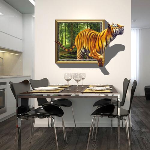 Acquista allingrosso Online tigre murale da Grossisti ...