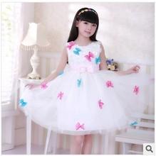 silk flower girl dress price
