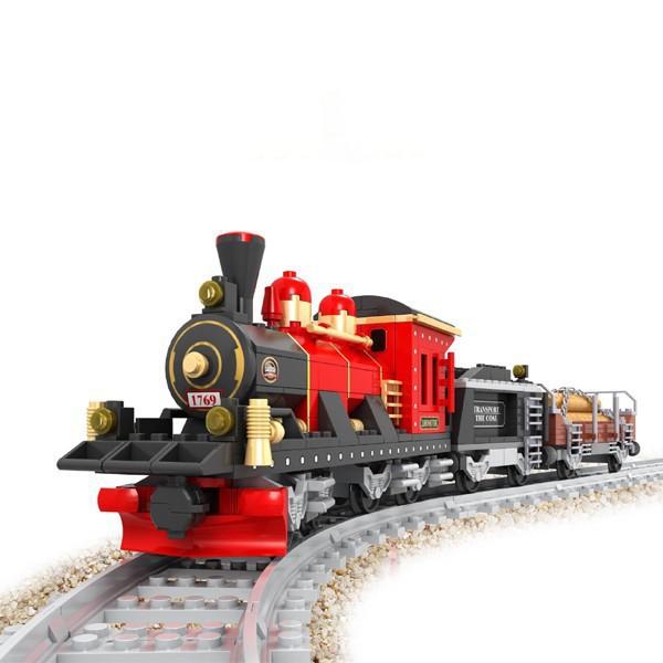 ausini 25705 паровой поезд строительные блоки