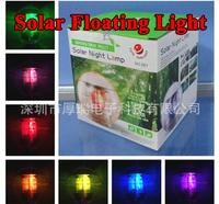 Waterpoof solar floating light,led solar pool light,waterproof solar lamp-free shipping