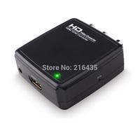 FLYKAN Mini HDMI to AV/CVBS Converter Video Adapter Box PAL/NTSC HD 1080P Converter Box