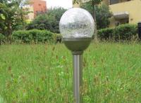 Waterproof Ball Crack Solar Garden Light Outdoor Solar Lawn Lamp Light