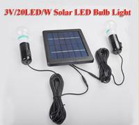 Solar Light Outdoor 20LED 2.5W 6V Solar Panel+5M Cable Solar Lights For Garden, Light Control Auto on/off garden solar lighting