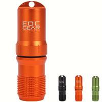 E1169 Metal survival waterProof box outdoor survival enclosing matches