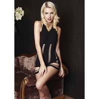 New Fashion Sexy lingerie,Slim sleeveless V-neck Hollow Sexy sleepwear women's underwear Free shipping NA223
