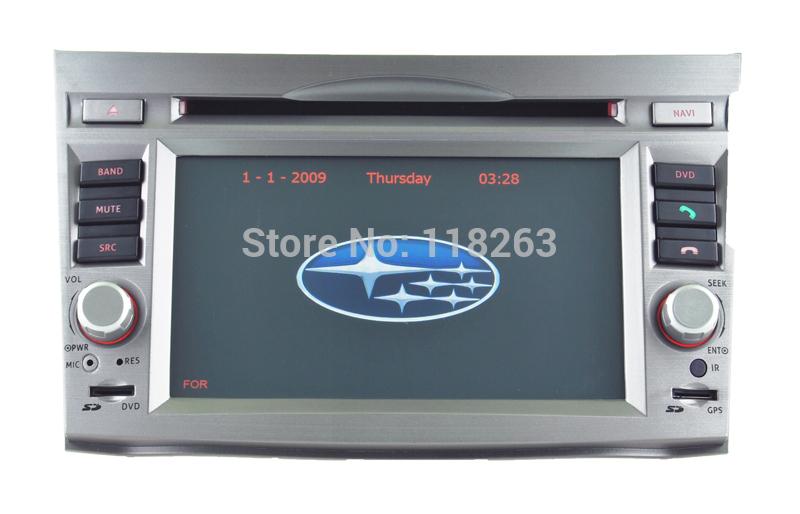 7 inch Car head unit for Subaru Outback/ Legacy car dvd player support GPS TV Radio iPod BT USB SD(China (Mainland))