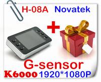 1 Free Gift+100% Original Novatek K6000 Car Camera 1080P Vehicle Video Recorder Dash Cam 2.7 TFT Newest Novatek Chipset Car DVR
