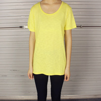 2014 HARAJUKU women's normcore o-neck solid color short-sleeve T-shirt chromophous female