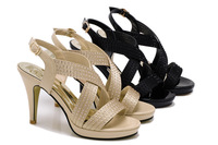 Free shipping Guciheaven 777 crystal ladies fish mouth shoes high heel foothold sexy women sandals  lady pumps ventilated shoes