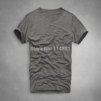 Free Shipping Famous Brand Cotton Comfy Men's T-shirt  O-neck Sexy Men's Shirts H02