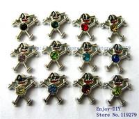 10 pcs Mix-color Boy charms DIY Accessories fit for locket