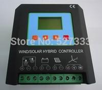 MPPT 1200W 1.2KW  Wind Solar Hybrid Charge Controller 12/24V Auto, (600W Wind+600w solar), Electronic Brake Function & Dump Load