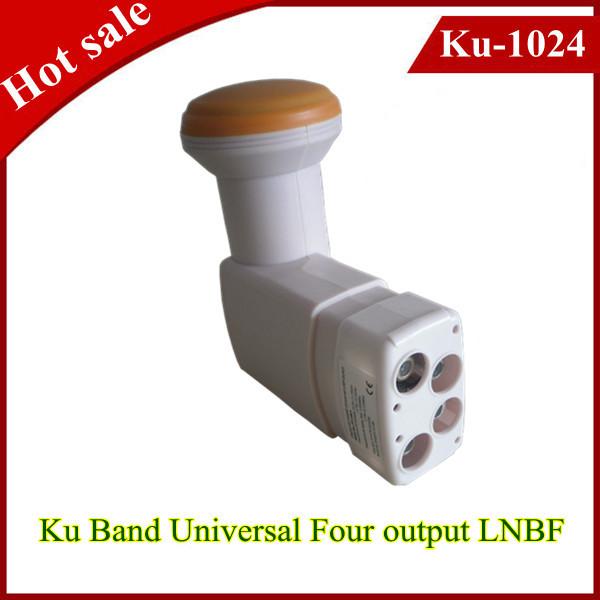 2014 Hot sale Universal KU Band quad LNBF in stock with high signal quality(China (Mainland))