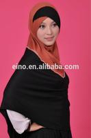 Wholesale free shipping FB120 fashion design pashmina headband scarf hijab for muslim lady