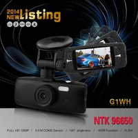 "G1WH Car DVR Recorder Full HD DVR 1080P 30FPS 2.7"" LCD with G-sensor+IR Night Vision H.264 Camera Recorder Freeshipping"