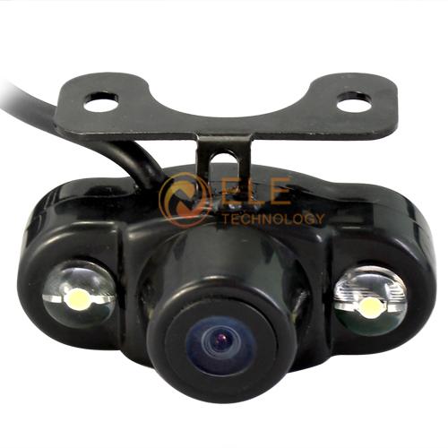 New Frog Eyes HD Rear View Camera 170 Degree Waterproof Car Rearview camera Backup LED Night Vision COMS Setup reverse Camera(China (Mainland))