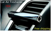 New 2014 Hot Mini Magic Wand Car Vent Perfume Balm Car Air Freshener  Fragrance Car Perfume,Black Free shipping