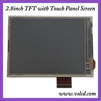 2.8inch tft lcd with 240x320 pixels, HX8347 Driver IC, 8080 MCU 8/16-bit Parallel