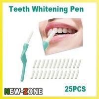 (Minimum Order 10$) Teeth Tooth Whitening Pen Dental Peeling Stick + 25 Pcs Eraser