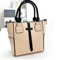 2014 new European and American fashion women handbags casual shoulder bag women leather handbags