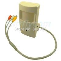 HD 700TVL sony CCD Effio-E 960H PIR 940nm IR Invisible CCTV Security 2.8mm Pinhole Hidden lens Audio Mic A/V Camera