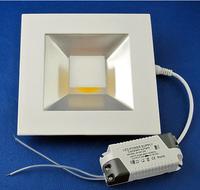 LED Panel 15W Square Pure White COB Light Ceiling Light Lamp 1400LM AC85-265V LED0165