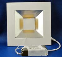 5W Square Pure White COB SMD LED Panel Light Ceiling Light Lamp 450LM AC85-265V